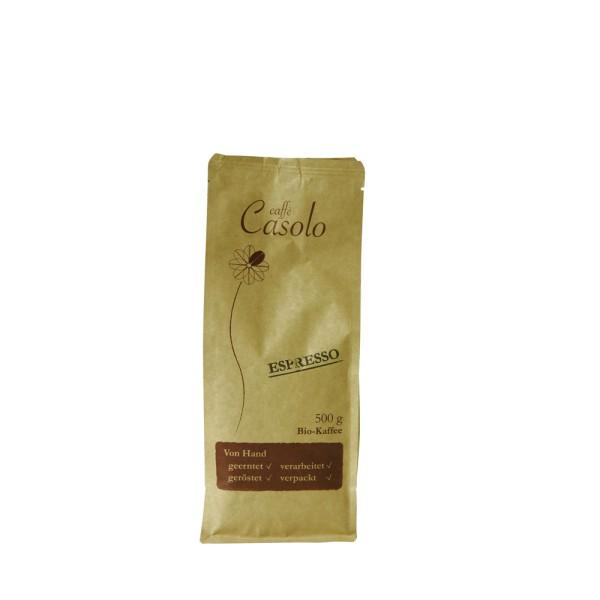 Caffè Casolo Espresso, ganze Bohne 0,5 kg