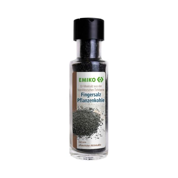 Ur-Meersalz Fingersalz, Pflanzenkohle 70 g