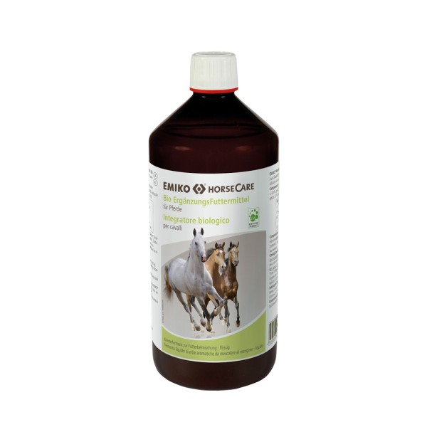 HorseCare Bio Ergänzungsfutter 1,0 l