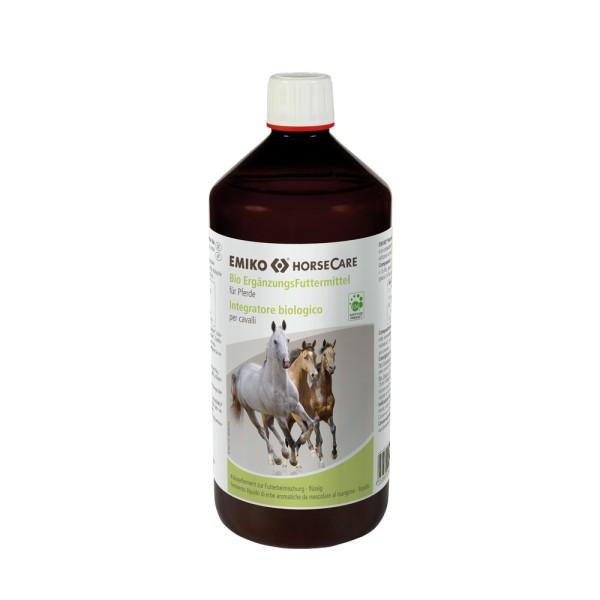 HorseCare Bio Ergänzungsfutter flüssig, 1,0 l