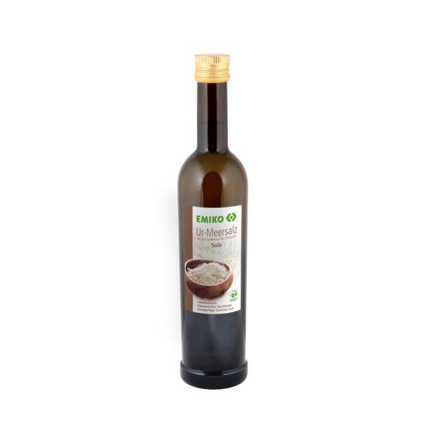 Ur-Meersalz Sole, Nachfüllflasche 0,5 l
