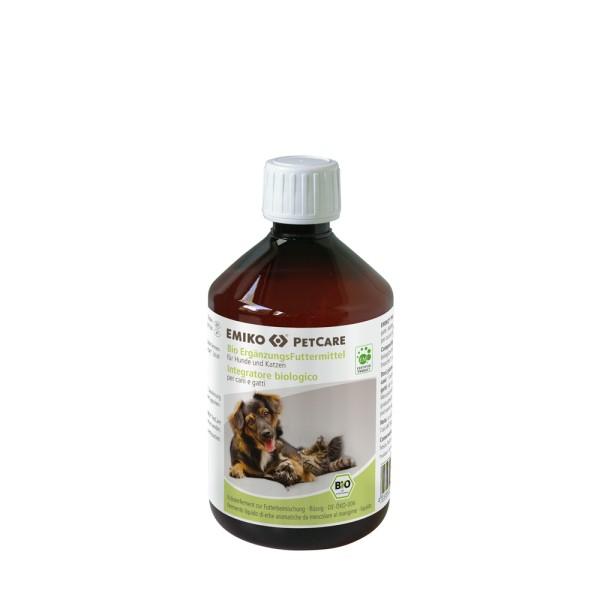 PetCare Bio Ergänzungsfutter flüssig, 0,5 l