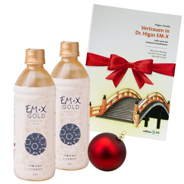 EM-X Gold Weihnachts-Paket