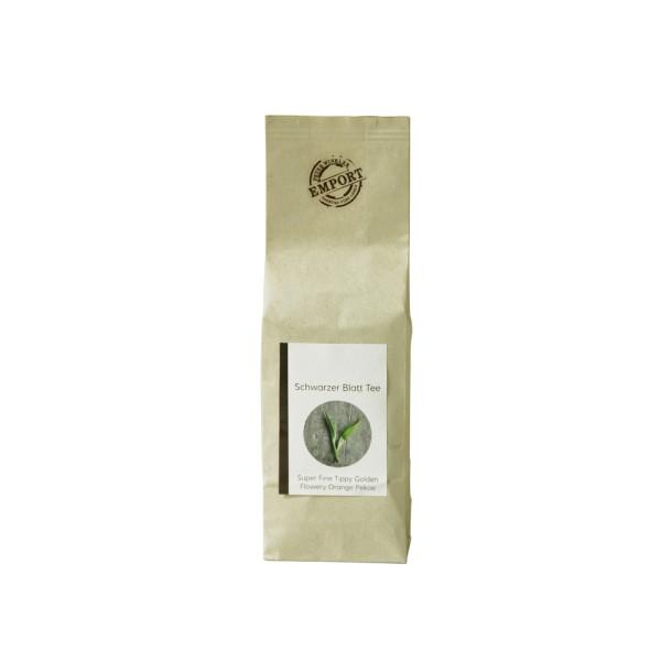 Schwarzer Blatt Tee, 100 g Beutel