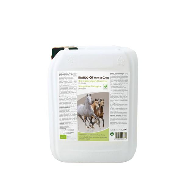 HorseCare Bio Ergänzungsfutter flüssig, 5,0 l