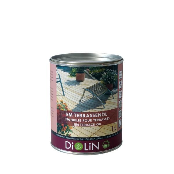 DiOLiN EM Terrassenöl, 1,0 l farblos