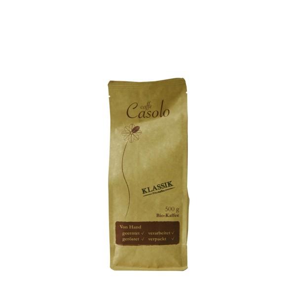 Caffè Casolo Klassik, ganze Bohne 0,5 kg